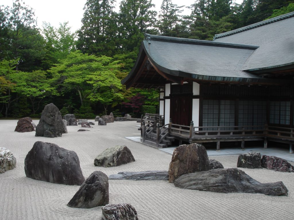 piedras jardin zen