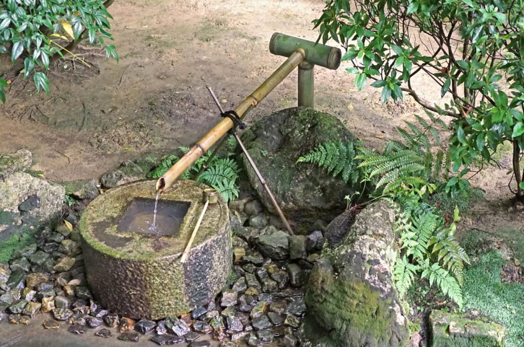 fuente jardin zen